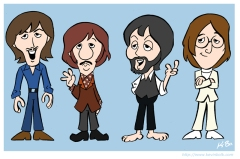 The_Beatles_Cartoon_1970_by_kevinbolk