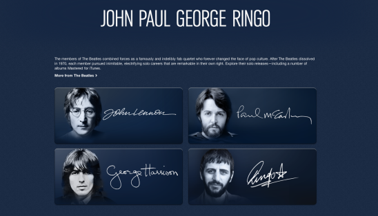 John Paul George and Ringo